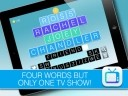 4 Words 1 TV Show HD - find the link and guess the TV show