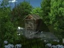 AD Water Mill - Animated Desktop Wallpaper