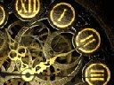 Mechanical Clock 3D Photo Screensaver