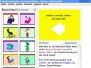 Musical Spanish Animated Videos, Games and Puzzles