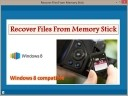 Recover Files From Memory Stick