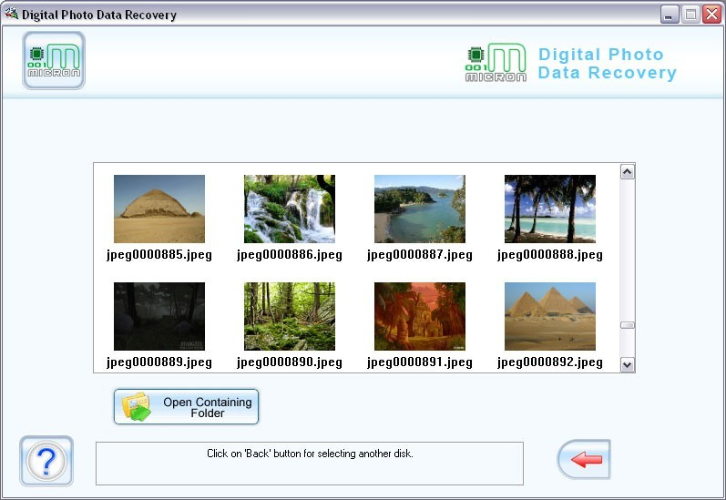 001Micron Digital Pictures Recovery Download