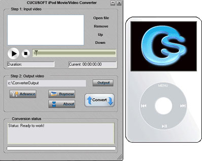 123 Cucusoft iPod Movie/Video Converter Download