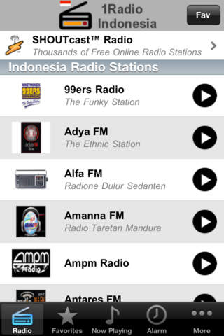 1Radio Indonesia Download