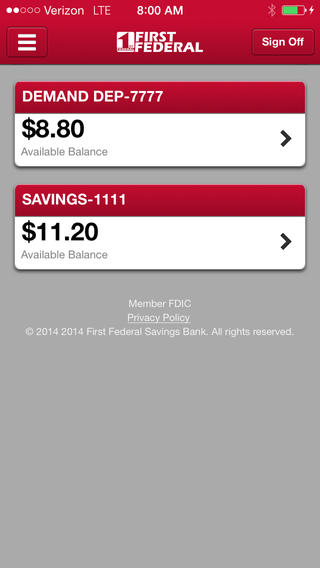 1st Federal Savings Mobile Banking Download