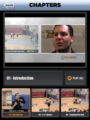 2-2-1 Press - With Coach Tom Moore - Full Court Basketball Training Instruction - XL Download