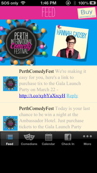 2013 Perth International Comedy Festival Download