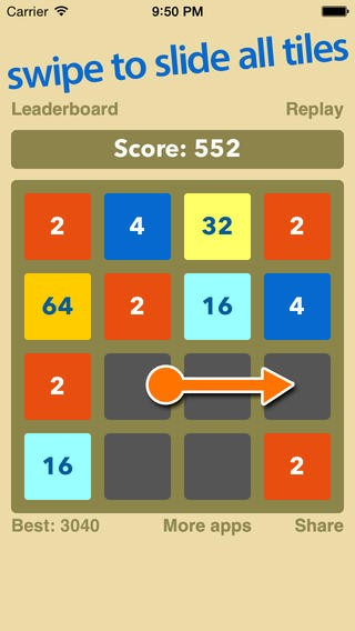 2048 : Match Two Numbers Puzzle (Free) Download