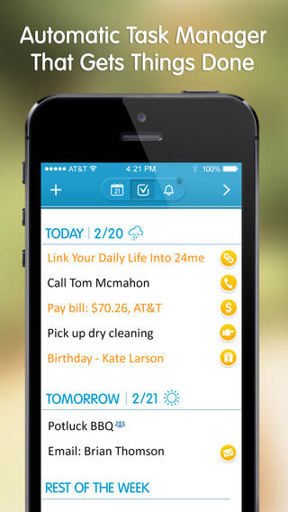 24me Smart Personal Assistant - Automate Your Calendar and Tasks Download