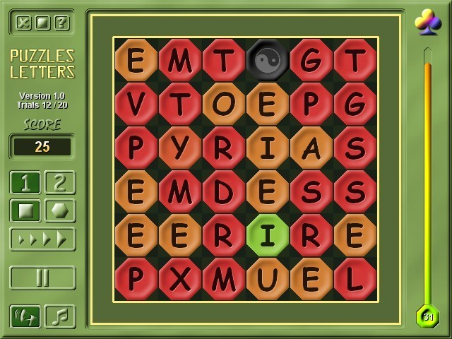 Screenshot Review Downloads Of Shareware 2m Puzzles Letters