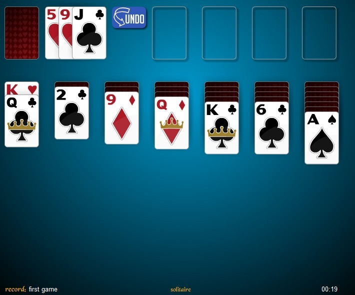 4 deck klondike solitaire game