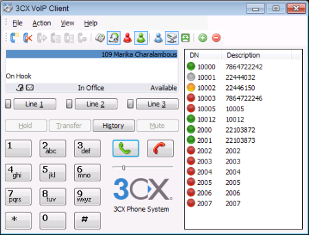 3CX FREE VOIP Phone for Windows Download