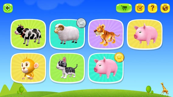 3D Animals Of Land for iPhone Download
