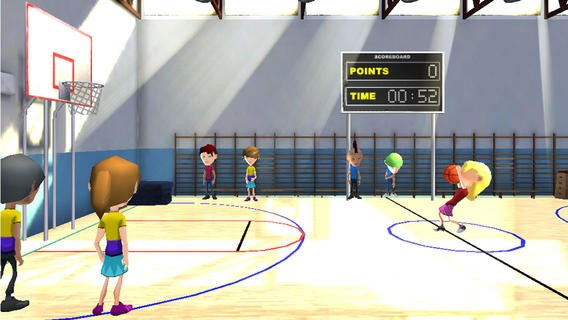 3D Hoop Stars Basketball Shooter Download