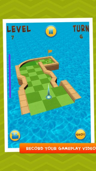 3D Super Mini Golf- hit in the line Download