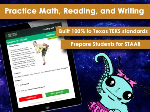 3rd Grade STAAR - Math, Language Arts, Reading, and Writing Download