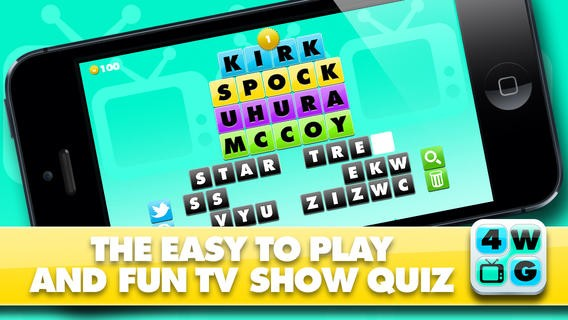 4 Word TV Game - Find the link and guess the TV show Download