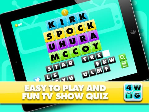 4 Word TV Game HD - Find the link and guess the TV show Download