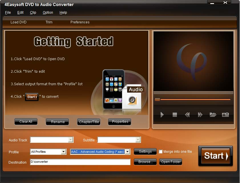 4Easysoft DVD to Audio Converter Download