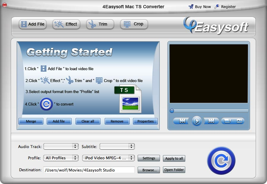 4Easysoft Mac TS Converter Download