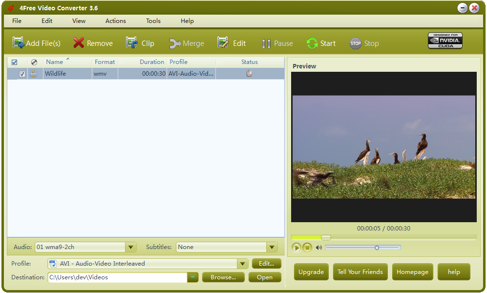 4Free Video Converter Download