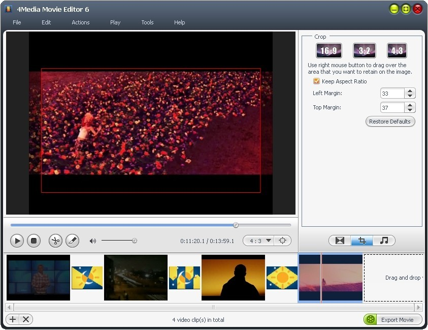 4Media Movie Editor Download
