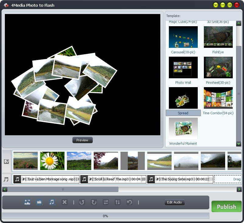 4Media Photo to Flash Download