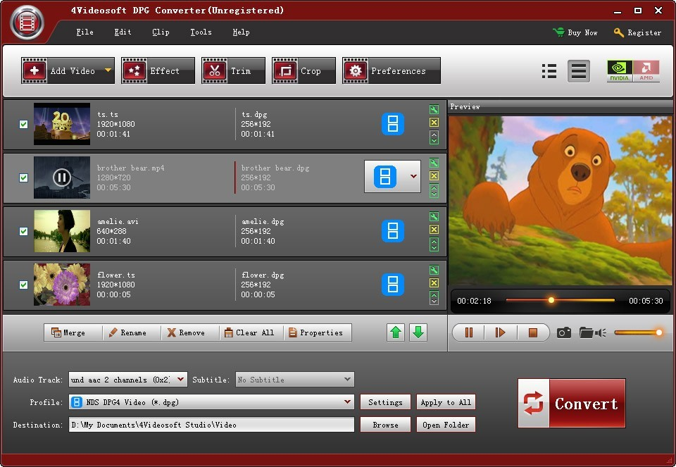 4Videosoft DPG Converter Download