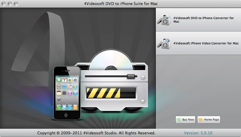 4Videosoft DVD to iPhone Suite for Mac Download
