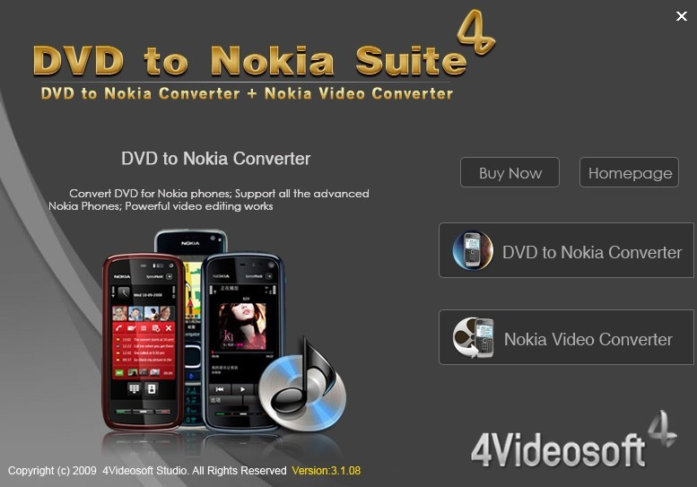 4Videosoft DVD to Nokia Suite Download