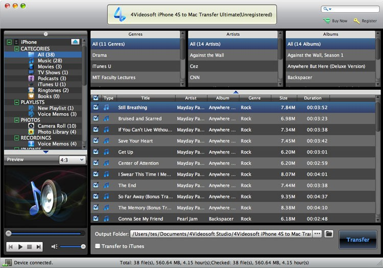 4Videosoft iPhone 4S to Mac Ultimate Download