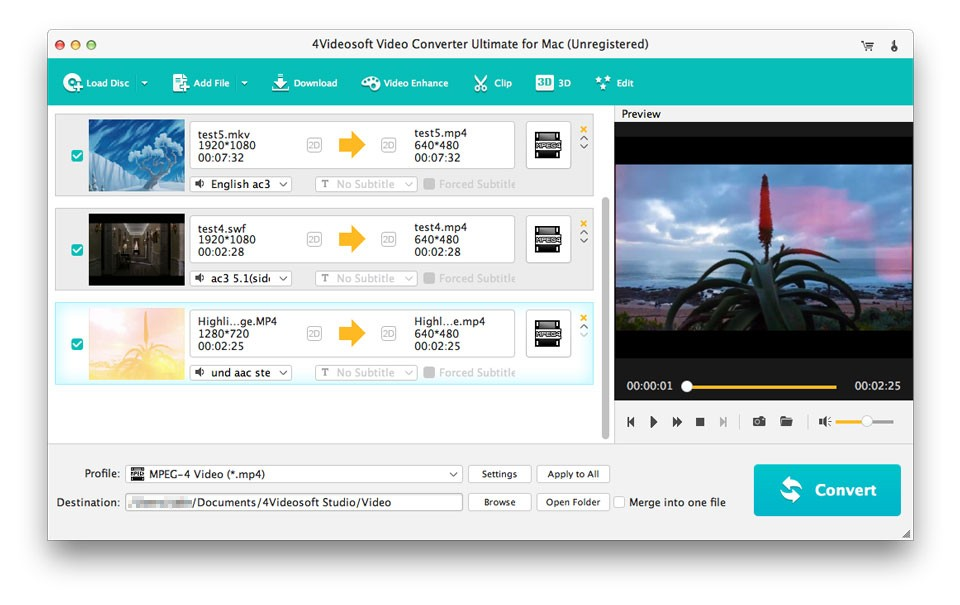 4Videosoft Mac Video Converter Ultimate Download
