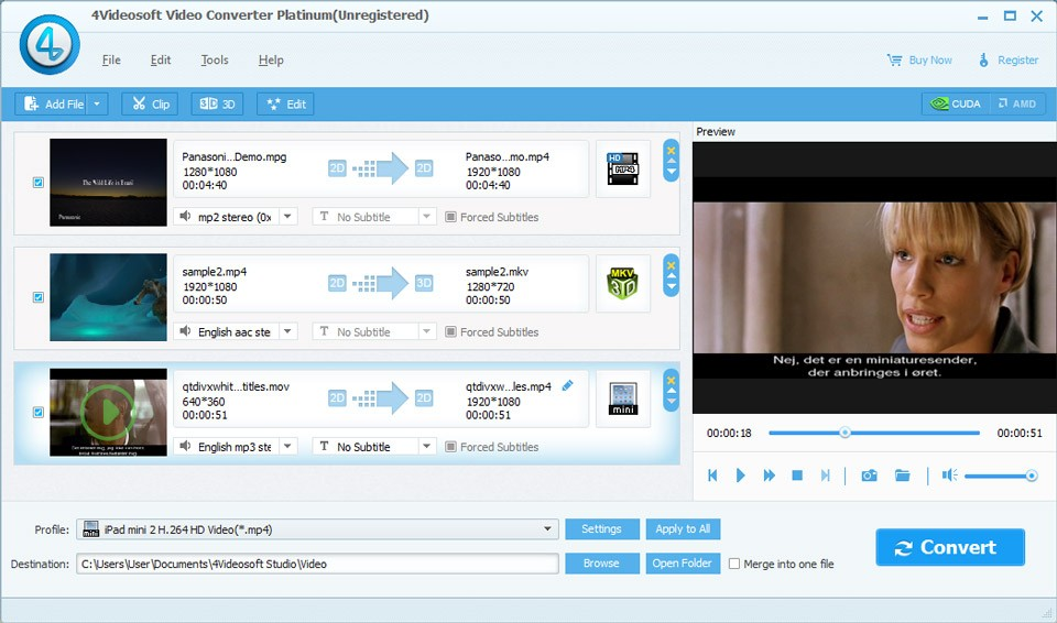 4Videosoft Video Converter Platinum Download