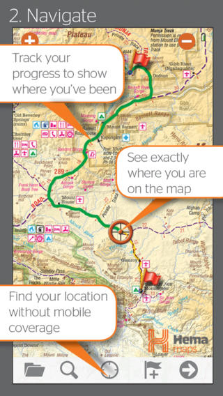 4WD Maps | Hema Australia Offline and Offroad GPS Navigation with 4x4 Touring Maps Download