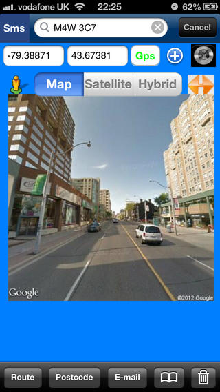 6 Digits Canada Postcode Location Finder and Street View Images Download
