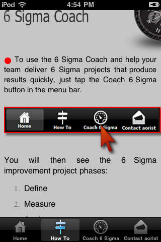 6 Sigma Coach for Sponsors Download