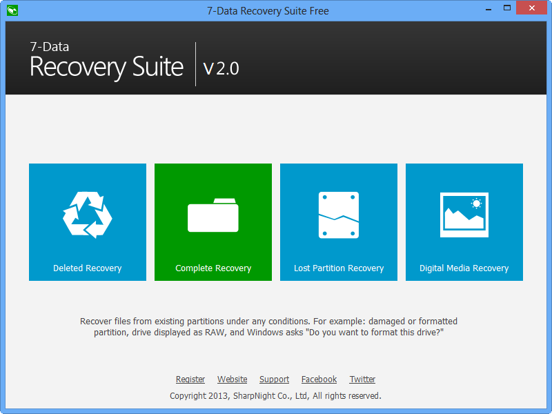 7-Data Recovery Suite Free Edition Download