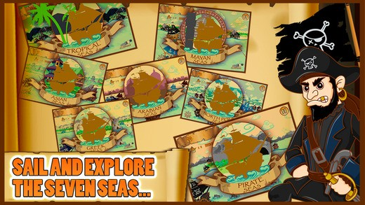 7 Seas Pirates Adventure Kids Game With Top New Shooting Pirate Ships And Fun FREE Download