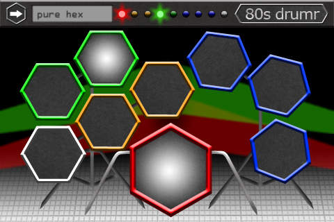 80s Drumr: The drum kit with hexagonal drums Download