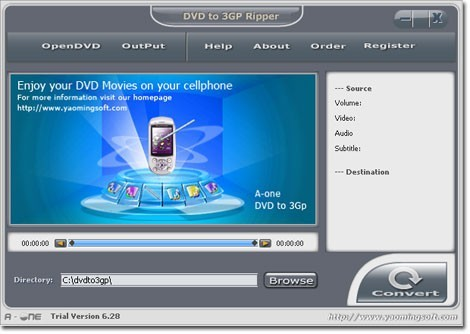 A-one DVD to MP3 Ripper Download