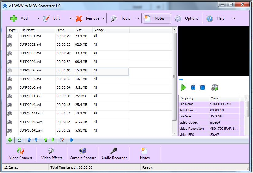 A1 WMV to MOV Converter Download