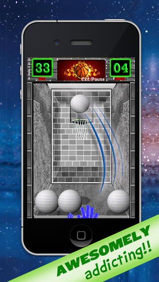 AAA Basketball Rush: A Real Free Throw Challenge Game Download