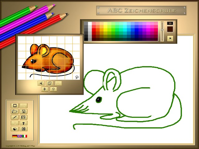 Screenshot review downloads of freeware abc drawing Easy drawing software