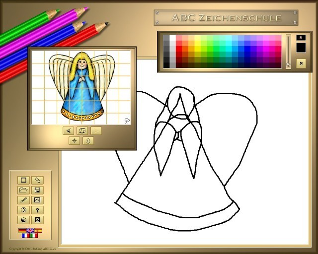ABC Drawing School V - Christmas Download