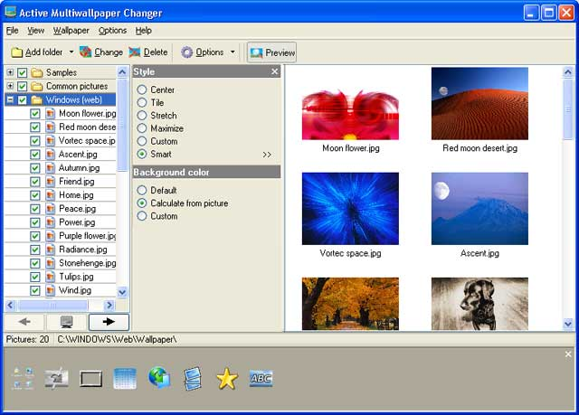 ABF software, Inc. in Desktop \ Wallpapers · ABF Wallpaper Changer Download