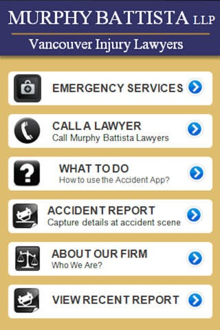 Accident App by Murphy Battista Law Download