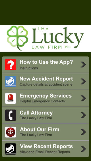 Accident App by The Lucky Law Firm Download