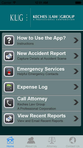 Accident Help App by Keches Law Group, P.C Download