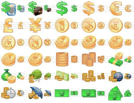 Accounting Development Icons Download