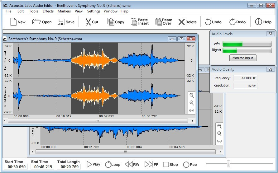 Acoustic Labs Audio Editor Download